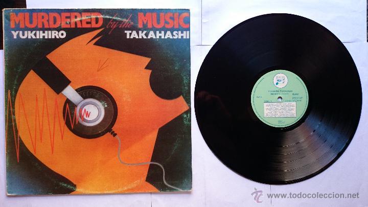 YUKIHIRO TAKAHASHI (YELLOW MAGIC ORCHESTRA - Y.M.O. - YMO -) - MURDERED BY THE MUSIC (1982) (Música - Discos - LP Vinilo - Pop - Rock - New Wave Extranjero de los 80)