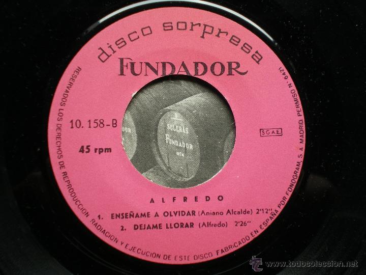 Discos de vinilo: FUNDADOR EP ALFREDO 1968 VER FOTOS TITULOS - Foto 2 - 49789785