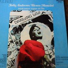 Discos de vinilo: DARLING LILI BSO - JULIE ANDREWS / HENRY MANCINI - LP 1970. Lote 49791715