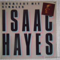 Discos de vinilo: ISAAC HAYES - '' GREATEST HIT SINGLES '' LP SPAIN. Lote 49792492