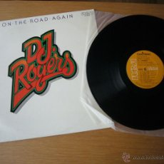 Discos de vinilo: DJ. ROGERS LP EX ON THE ROAD AGAIN DISCO EXPLOSION COX MILES SASS JUNIE FUNKADELIC BROWN. Lote 49824291