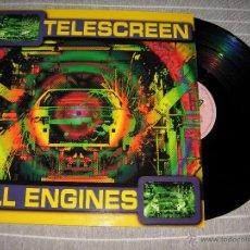 Discos de vinilo: TELESCREEN - ALL ENGINES / BOY RECORDS 1997 NUEVO. Lote 118494210