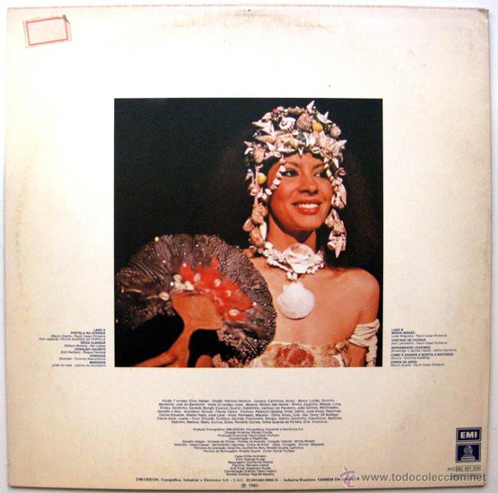 Discos de vinilo: Clara Nunes - Clara - LP Odeon 1981 Brasil BPY - Foto 2 - 49839352