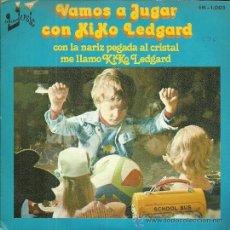 Discos de vinilo: KIKO LEGARD SINGLE SELLO EUROMUSIC AÑO 1976 EDITADO EN ESPAÑA . Lote 49839959