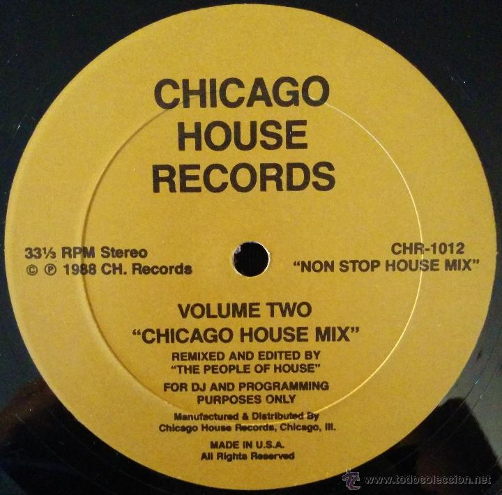 THE PEOPLE OF THE HOUSE, CHICAGO HOUSE MIX VOLUME 2, LP (Música - Discos - LP Vinilo - Techno, Trance y House)