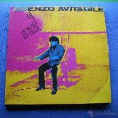 Discos de vinilo: ENZO AVITABILE ALTA TENSIONE LP SPAIN 1989 CON ENCARTE PDELUXE. Lote 49846892