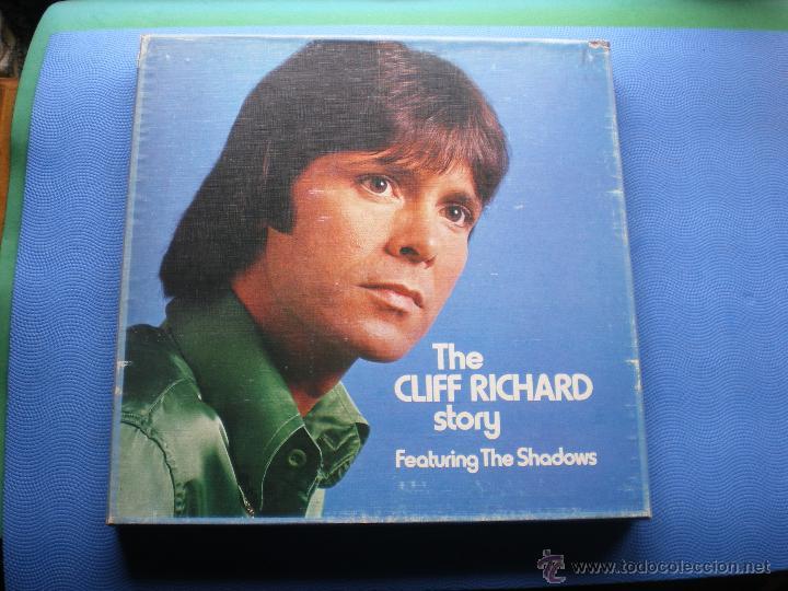 CLIFF RICHARD THE CLIFF RICHARD STORY LP BOX (6LP) UK ( CON THE SHADOWS) PDELUXE (Música - Discos - LP Vinilo - Pop - Rock - Internacional de los 70)