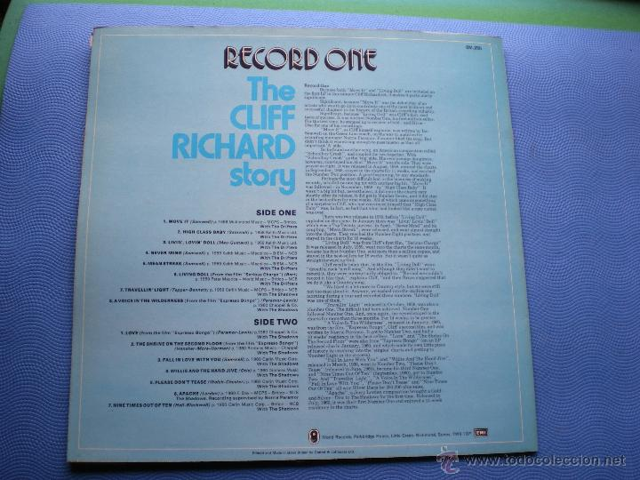 Discos de vinilo: CLIFF RICHARD THE CLIFF RICHARD STORY LP BOX (6LP) UK ( CON THE SHADOWS) PDELUXE - Foto 4 - 49847028