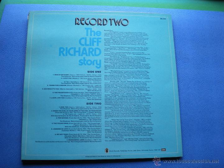 Discos de vinilo: CLIFF RICHARD THE CLIFF RICHARD STORY LP BOX (6LP) UK ( CON THE SHADOWS) PDELUXE - Foto 6 - 49847028