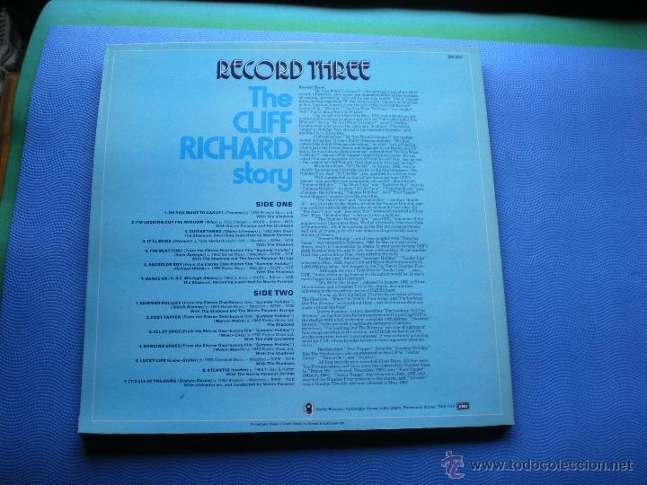 Discos de vinilo: CLIFF RICHARD THE CLIFF RICHARD STORY LP BOX (6LP) UK ( CON THE SHADOWS) PDELUXE - Foto 8 - 49847028