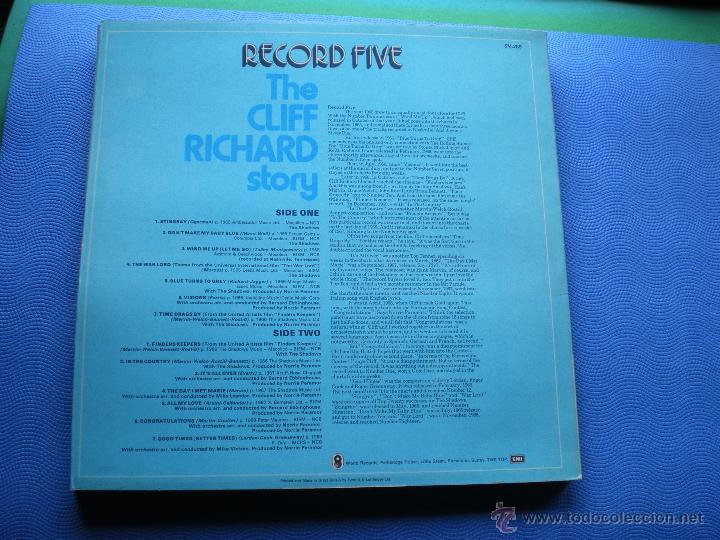 Discos de vinilo: CLIFF RICHARD THE CLIFF RICHARD STORY LP BOX (6LP) UK ( CON THE SHADOWS) PDELUXE - Foto 12 - 49847028
