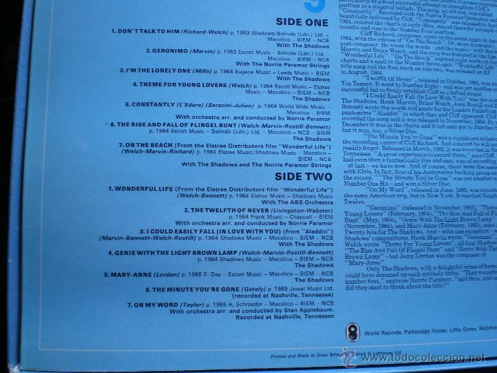Discos de vinilo: CLIFF RICHARD THE CLIFF RICHARD STORY LP BOX (6LP) UK ( CON THE SHADOWS) PDELUXE - Foto 17 - 49847028