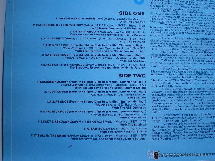 Discos de vinilo: CLIFF RICHARD THE CLIFF RICHARD STORY LP BOX (6LP) UK ( CON THE SHADOWS) PDELUXE - Foto 18 - 49847028