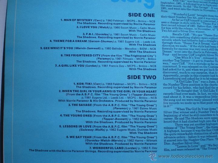 Discos de vinilo: CLIFF RICHARD THE CLIFF RICHARD STORY LP BOX (6LP) UK ( CON THE SHADOWS) PDELUXE - Foto 19 - 49847028