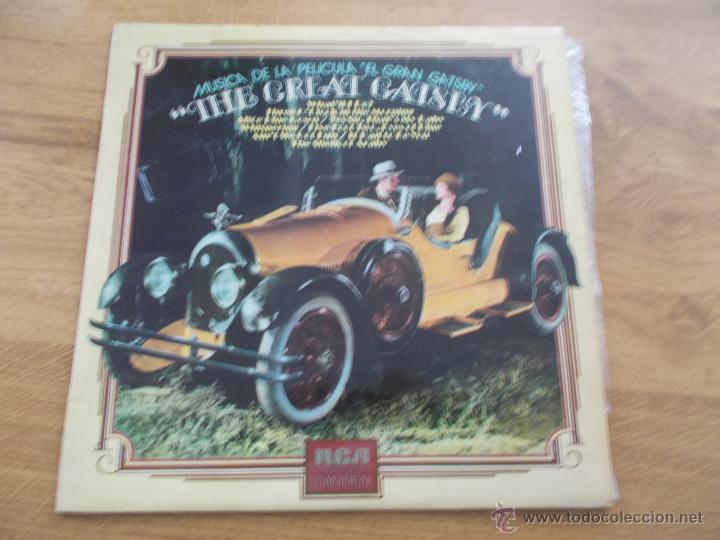 THE GREAT GATSBY (Música - Discos - LP Vinilo - Bandas Sonoras y Música de Actores )