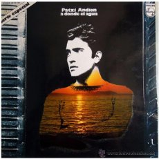 Discos de vinilo: PATXI ANDION - A DONDE EL AGUA - LP SPAIN 1973 - PHILIPS 6499 787. Lote 49854133