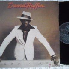 Discos de vinilo: DAVID RUFFIN - '' WHO AM I '' LP ORIGINAL UK. Lote 49860900