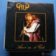 Discos de vinilo: ÑU AMOR EN EL CIELO SINGLE SPAIN 1987 PROMO PDELUXE. Lote 49863156