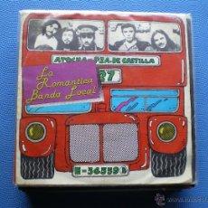 Discos de vinilo: LA ROMANTICA BANDA LOCAL EL BUS SINGLE SPAIN 1988 PDELUXE. Lote 49866610