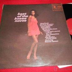 Dischi in vinile: DUNCAN LAMONT BEST OF THE BOSSA NOVAS LP 1970 MUSIC FOR PLEASURE EDICION INGLESA UK LATIN BOSSA. Lote 49869179
