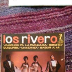 Discos de vinilo: LOS RIVERO -- SABOR A MÍ, SIBONEY, ... -- ZAFIRO, 1961. Lote 49872003