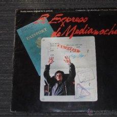 Discos de vinilo: EL EXPRESO DE MEDIANOCHE - MADE IN SPAIN -1978 - GIORGIO MORODER - IBL-. Lote 49872217