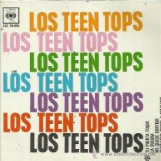 Discos de vinil: LOS TEEN TOPS EP CBS 1963 TU PUERTA TOQUE/ LA SUEGRA/ ME QUEDE CONTIGO +1 ROCK ROLL COVERS. Lote 49872675