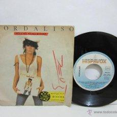 Disques de vinyle: FIORDALISO - SOLA NO, YO NO SE ESTAR - HISPAVOX -1985 -VG+/VG. Lote 49877793