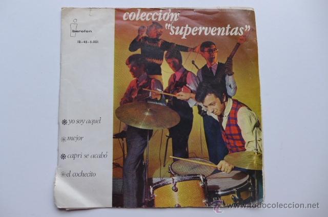 LOS BRINCOS. YO SOY AQUEL / MEJOR / CAPRI SE ACABÓ / EL COCHECITO. 1966. IBEROFON. (Música - Discos de Vinilo - EPs - Grupos Españoles 50 y 60)