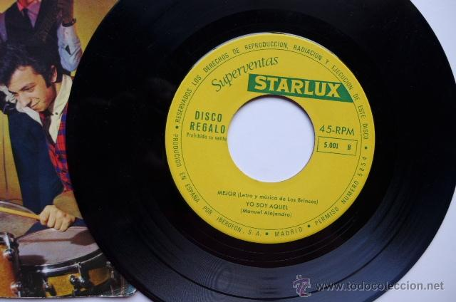Discos de vinilo: Los Brincos. Yo soy aquel / Mejor / Capri se acabó / El cochecito. 1966. Iberofon. - Foto 2 - 49880513