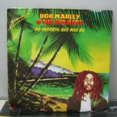 Discos de vinilo: BOB MARLEY & THE WAILERS - THREE LITTLE BIRDS / ZIMBABWE - SPAIN - ISLAND 1980 . Lote 49881367