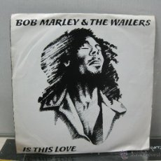 Discos de vinilo: BOB MARLEY & THE WAILERS - IS THIS LOVE / CRISIS - SPAIN - ISLAND 1978. Lote 49881415