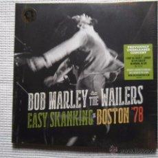 Discos de vinilo: BOB MARLEY & THE WAILERS - '' EASY SKANKING IN BOSTON '78 '' 2 LP EU SEALED. Lote 49882864