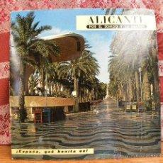 Discos de vinilo: ALICANTE - POR EL SONIDO Y LA IMAGEN / EDIPHONE 1966. Lote 49895838