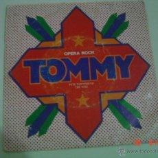 Discos de vinilo: OPERA ROCK- TOMMY- PETE TOWNSHEND THE WHO- SINGLE- POLYDOR 1975. Lote 49896570