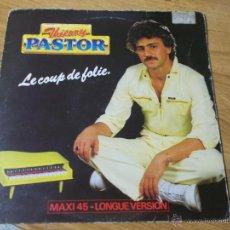 Discos de vinilo: THIERRY PASTOR. JE VOUDRAIS ETRE. Lote 49896815