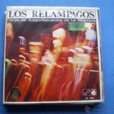 Discos de vinilo: LOS RELAMPAGOS DANZA DEL FUEGO SINGLE SPAIN 1966 PDELUXE. Lote 49898173