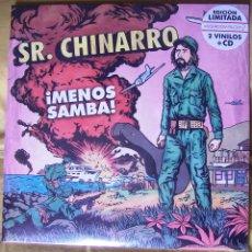 Discos de vinilo: SR. CHINARRO - ¡MENOS SAMBA! 2LP+CD. Lote 49900347