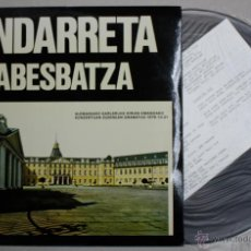 Discos de vinilo: DISCO VINILO ONDARRETA ABESBATZA GETXO. AÑO 1979. XOXOA DISKAK. Lote 49912039