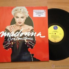 Discos de vinilo: MADONNA `YOU CAN DANCE` + POSTER GIGANTE. Lote 49902965
