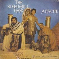 Dischi in vinile: THE SUGARHILL GANG - APACHE - SINGLE ESPAÑOL DE VINILO OLD SKOOL RAP. Lote 49912977