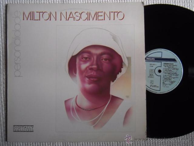 MILTON NASCIMENTO - '' PERSONALIDADE '' LP SPAIN 1988 (Música - Discos - LP Vinilo - Étnicas y Músicas del Mundo)
