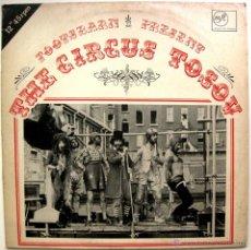Discos de vinilo: FOOTSBARN - THE CIRCUS TOSOV - LP BROKEN RECORDS 1980 UK BPY. Lote 49914846