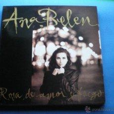 Discos de vinilo: ANA BELÉN - ROSA DE MAR Y FUEGO - LP DE VINILO CON ENCARTES PEPETO. Lote 49914952