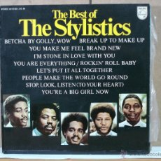 Discos de vinilo: THE STYLISTICS - THE BEST OF THE STYLISTICS - PHILIPS 63 10 853 GT-04 - 1976. Lote 49915730