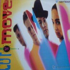 Disques de vinyle: CUT N MOVE,GET SERIOUS EDICION ESPAÑOLA DEL 91. Lote 49918158