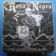 Discos de vinilo: ROSA NEGRA ESPEJO DEL AGUJERO SINGLE SPAIN 1984 PROMO PDELUXE. Lote 49925796