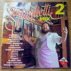 Discos de vinilo: SPAGHETTI MIX 2 (MAX MUSIC 1993) - MIXED BY FERNANDISCO - 2 LPS. Lote 49929225