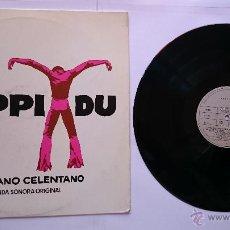 Discos de vinilo: ADRIANO CELENTANO - BSO 'YUPPI DU' (1ª EDICION 1975). Lote 49932924