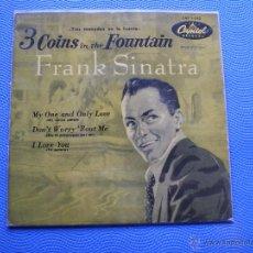 Discos de vinilo: FRANK SINATRA TRES MONEDAS EN LA FUENTE+3 EP SPAIN 1958 PDELUXE. Lote 49935668